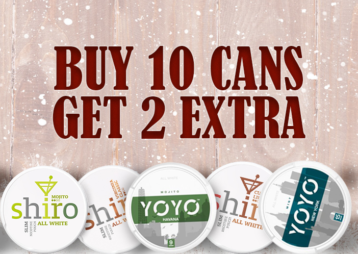 BUY YOYO & SHIRO AT SNUS24