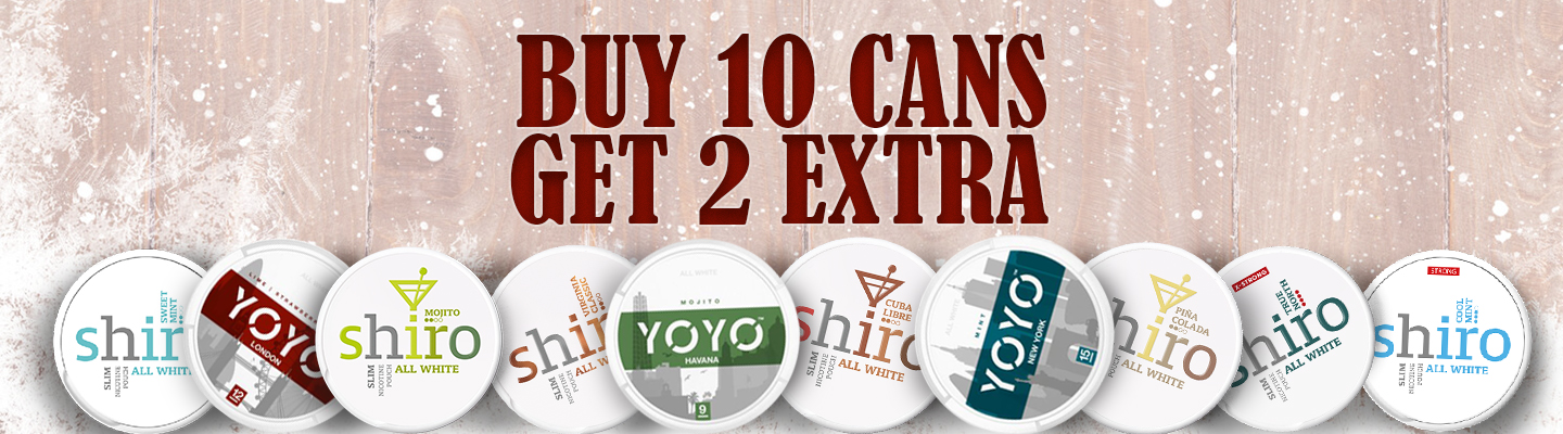 BUY SHIRO & YOYO AT SNUS24