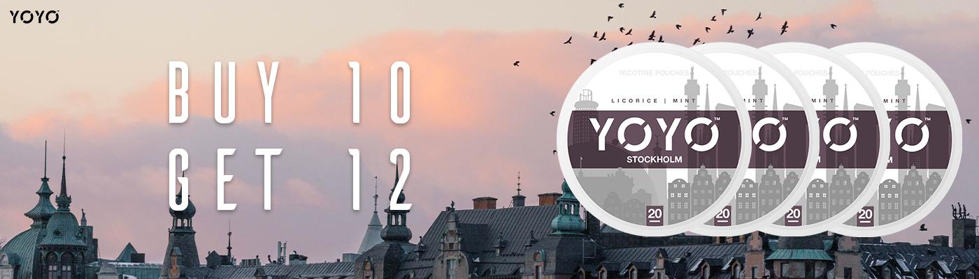 New YOYO at Snus24
