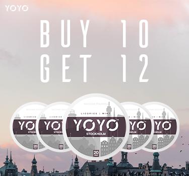 Buy YOYO at Snus24