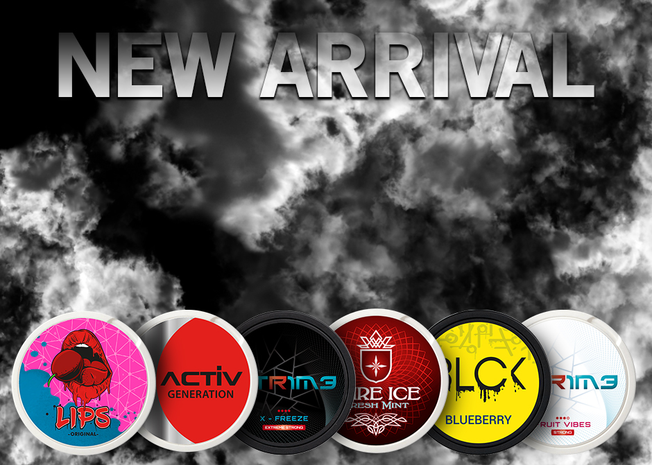 New arrival from NGP at Snus24