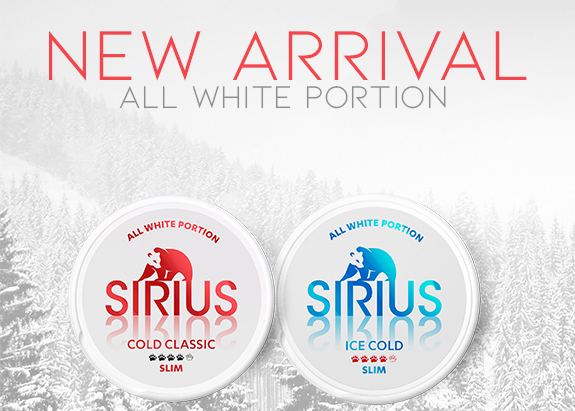 Buy new Sirius at Snus24
