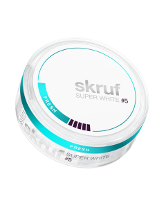 Skruf Super White Slim Fresh #5