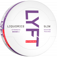 LYFT Liquorice Strong Slim